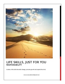 Life Skills, Just for You RESPONSIBILITY
