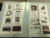 Life Skills- Kitchen Item Picture Match (generalizing) file folder game