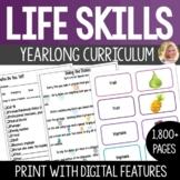 Life Skills Lesson Bundle Full Year Curriculum. High Schoo