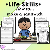 How To Make a Sandwich LIFE LESSON - learning how to in a fun way!