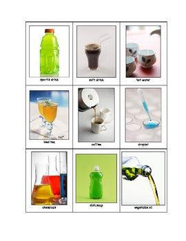 Life Skills: Liquids vs. Solids