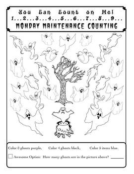 "Life Skills! MONDAY MAINTENANCE 2.2 October ""Monsters"" Edition"