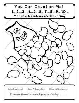 "Life Skills: MONDAY MAINTENANCE 5.2 January ""Junk Food"" Ed."