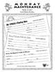 "Life Skills: MONDAY MAINTENANCE 7.0 March ""St. Patrick's Day"" Edition"