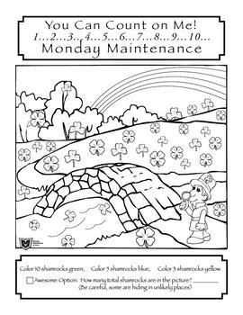 "Life Skills: MONDAY MAINTENANCE 7.0 March ""St. Patrick's Day"" Edition"