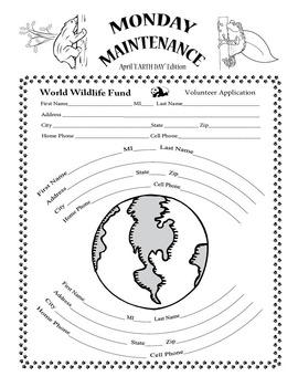 "Life Skills: MONDAY MAINTENANCE 8.0 April ""Earth Day"" Edition"