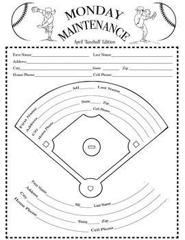 "Life Skills: MONDAY MAINTENANCE 8.1 April ""Play Ball!"" Edition"