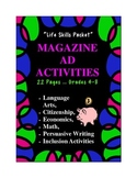 Reading for Details Magazine Ad Activities