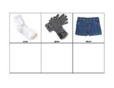 Life Skills: Match Like Clothing (Brigance)