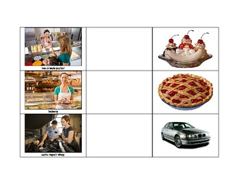 Life Skills: Match the Related Items