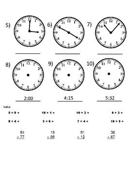 Life Skills Math CBA