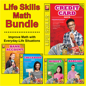 Life Skills Math:  Checkbook, Credit Card, Bank Account, Bargain & Budget