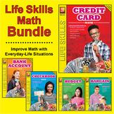 Life Skills Math:  Checkbook, Credit Card, Bank Account, B
