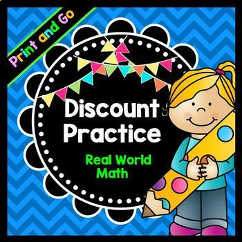 Life Skills Math, Money, and Reading: Calculating Discounts + Sale Prices