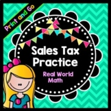 Life Skills Math, Money, and Reading: Sales Tax and Shopping