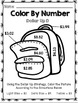 Life Skills Math and Money: Color By Number Dollar Up BACK