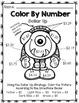 Life Skills Math and Money: Color By Number No Prep - Doll