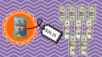 Life Skills Math Money and Shopping: Dollar Up Task Cards - Bundle Pack!!