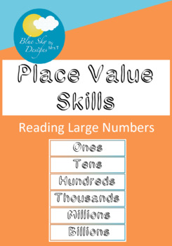 Maths Skills: Reading Numbers