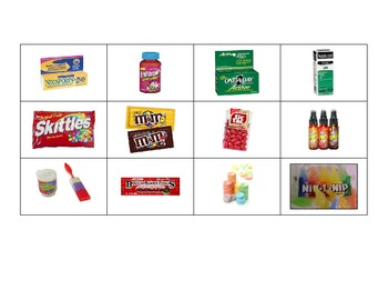Special Education: Medicine vs. Candy - Sort