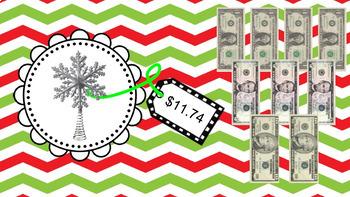 Christmas Dollar Up {Life Skills} {Special Education} {Math} {Money} {Shopping}