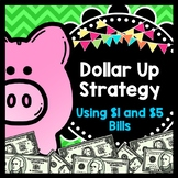 Life Skills Math, Money and Shopping: Dollar Up Task Cards - $1 and $5 Bills