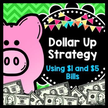 Life Skills Math, Money and Shopping: Dollar Up Task Cards