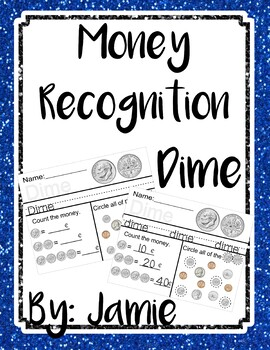 Life Skills Money Recognition - Dime