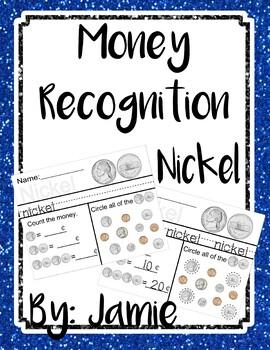 Life Skills Money Recognition - Nickel