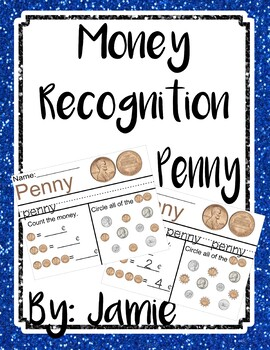 Life Skills Money Recognition - Penny