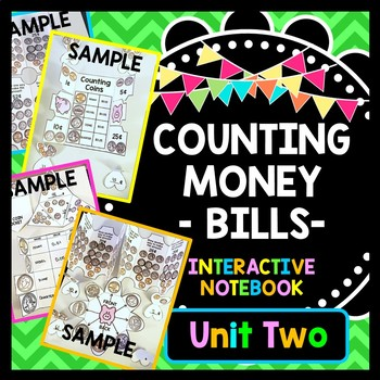 Life Skills Money and Math - INTERACTIVE NOTEBOOK For Coun