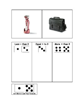 Life Skills: Counting - Greater, Less or Equal