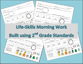 Life-Skills Morning Work 2nd Grade Level