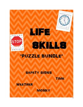 Life Skills Number Puzzles BUNDLE