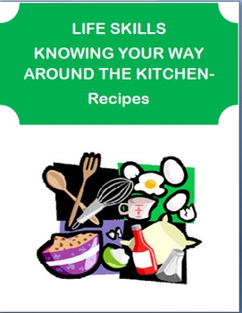 """""""Kitchen Life Skills """"-teens. Stocking kitchen, safety issues, fire safety tips"""