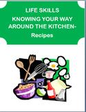 """Kitchen Life Skills ""-teens. Stocking kitchen, safety iss"