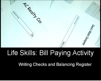 Life Skills: Paying Bills