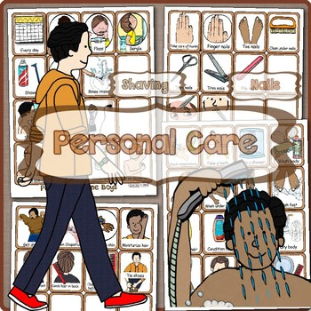 Life Skills Personal Hygiene Visual Schedules Supports: Pre/Post Adolescent Boy