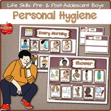 Life Skills Personal Hygiene Visual Schedules Supports: Pr