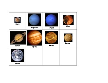 Life Skills: Planet Sequence