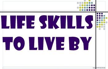 Classroom Posters: Life Skills