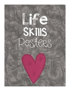Life Skills Posters (Chalkboard Edition)