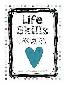 Life Skills Posters (Picture Edition)