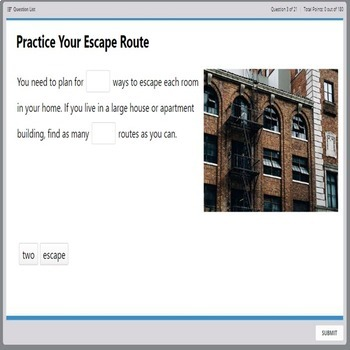 Life Skills - Practice Your Escape Route