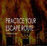 Life Skills - Practice Your Escape Route (No-Prep Digital Lesson)