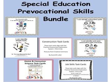 Life Skills/Pre-vocational Skills Bundle
