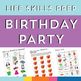 Life Skills Prep for Birthday Party Community Outings