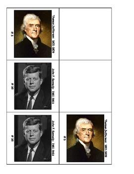 Life Skills: President Match