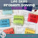 Life Skills Problem Solving Bundle 1 with BONUS Boom Cards