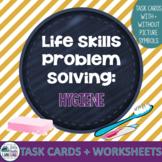 Life Skills Problem Solving: Hygiene with BOOM Card Option